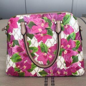 NWOT, Kate spade, floral handbag